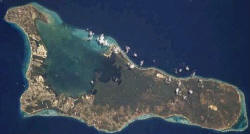 Satellite picture of Grand Cayman Cayman Islands
